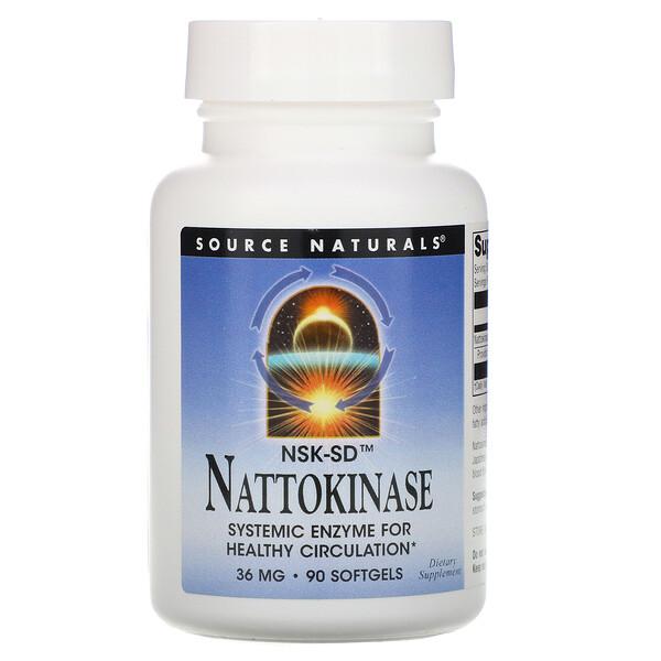 NSK-SD, Nattokinase, 36 mg, 90 Softgels