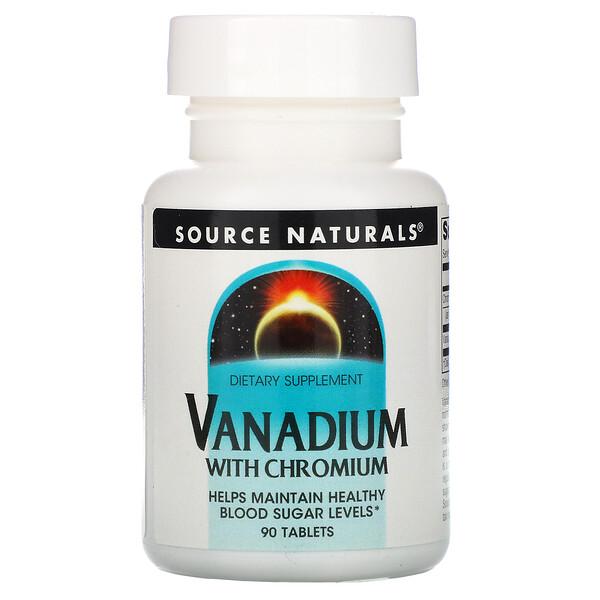 Ванадий с хромом, 90 таблеток