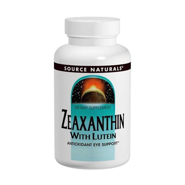 Зеаксантин с лютеином, 10 мг, 60 капсул