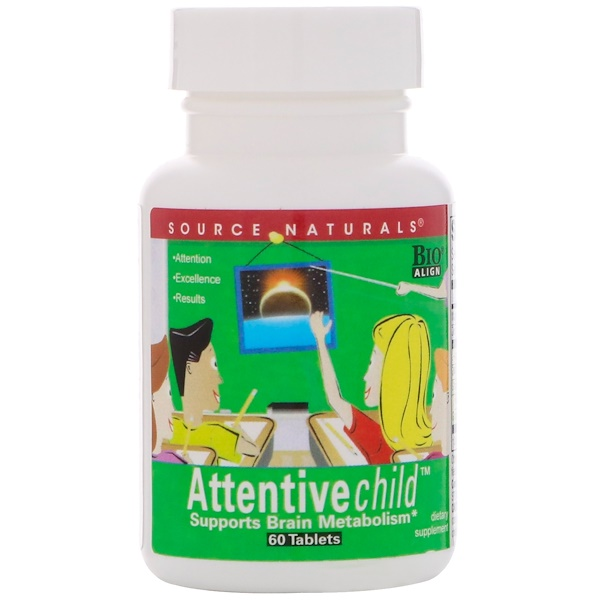 Attentive Child, 60таблеток