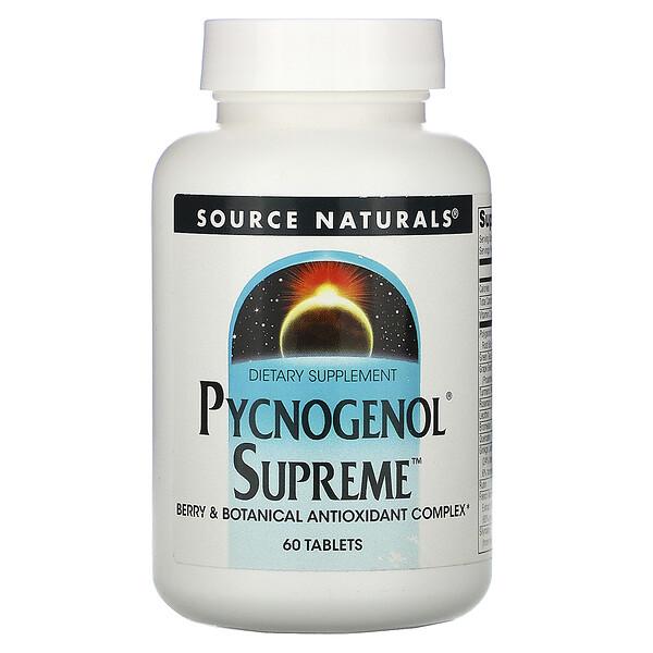 Pycnogenol Supreme, 60 таблеток