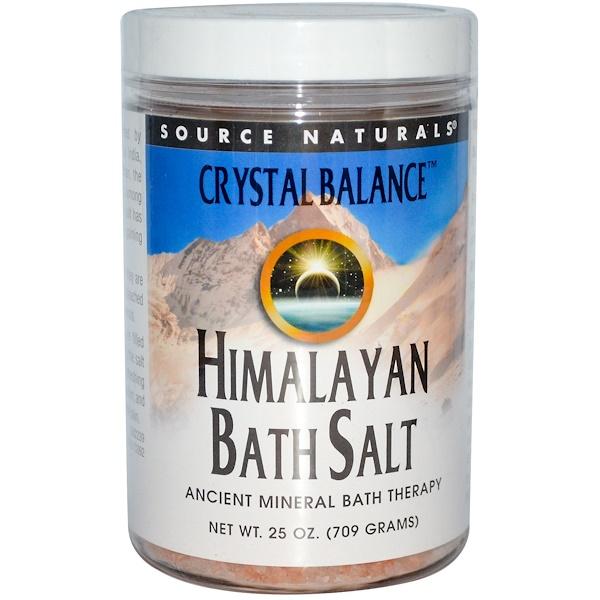 Source Naturals, Гималайская соль для ванны, 709 г (Discontinued Item)