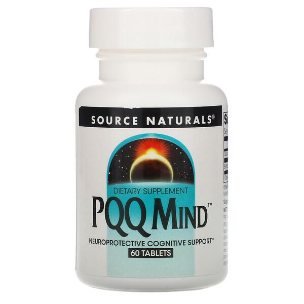 PQQ для мозга, пирролохинолинхинон, метоксантин, 60 таблеток