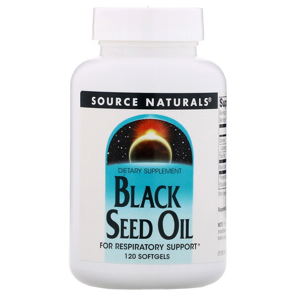 Масло черного тмина, 120 мягких таблеток
