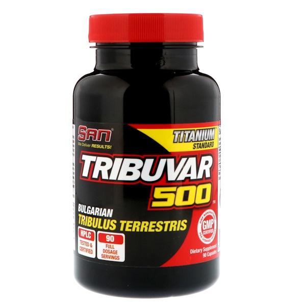 SAN Nutrition, Tribuvar 500, 90 капсул (Discontinued Item)