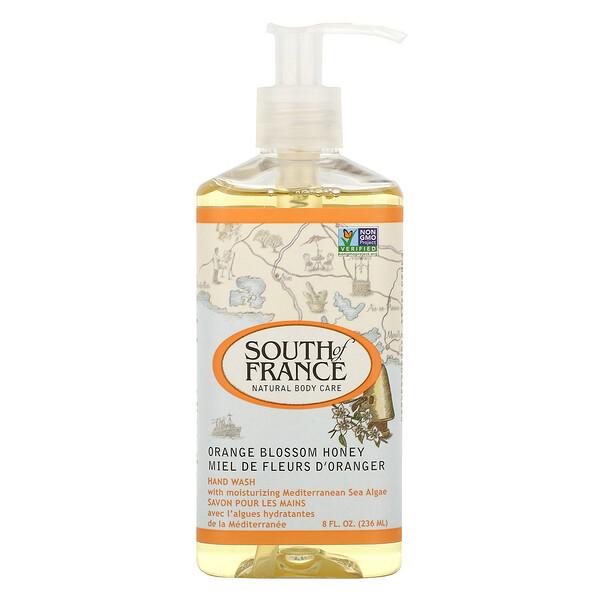 Средство для мытья рук с успокаивающим алоэ вера, соцветиями апельсина и медом, 8 унций (236 мл)