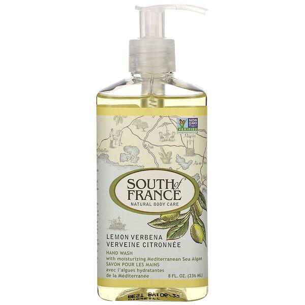 Вербена лимонная, жидкое мыло с успокаивающим алоэ, 8 унций (236 мл)