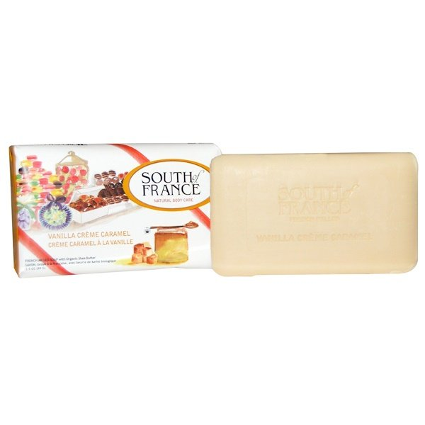 South of France, French Milled Soap, Vanilla Creme Caramel, 3.5 oz (99 g) (Discontinued Item)