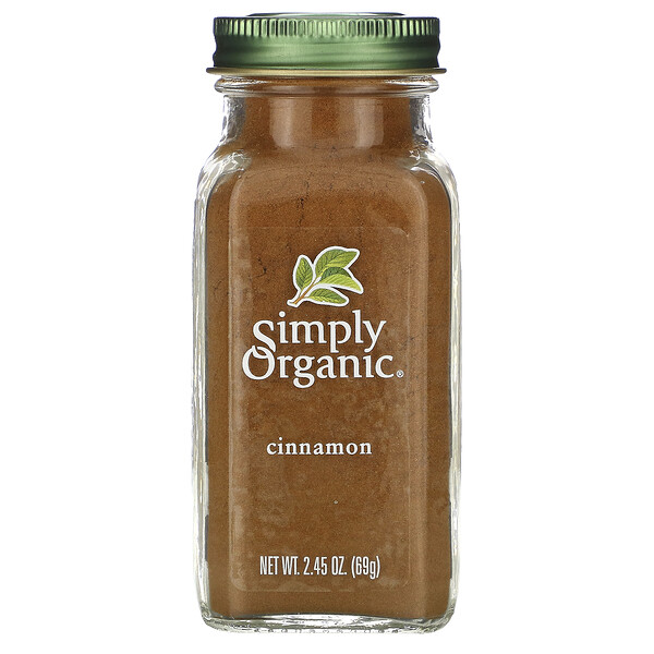 Simply Organic, корица, 69г (2,45унции)