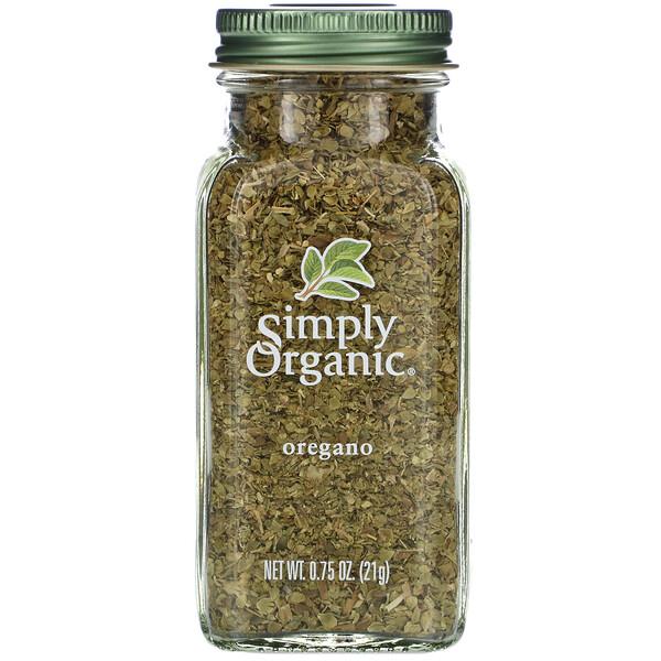 Simply Organic, Орегано, 21 г (0,75 унции)