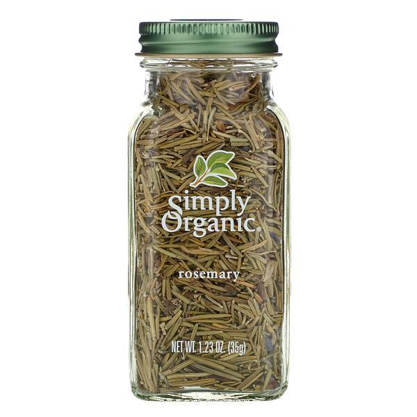 Simply Organic, Розмарин, 35 г (1,23 унции)