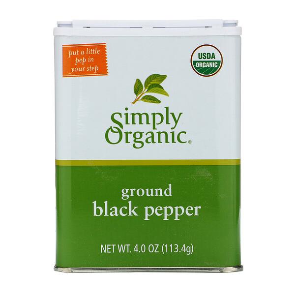 Молотый черный перец, 113,4 г (4 унции)