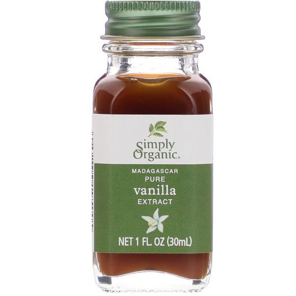Madagascar Pure Vanilla Extract, 1 fl oz (30 ml)