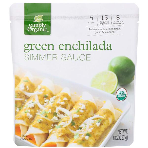 Органический соус для приготовления зеленых энчиладас, 227г