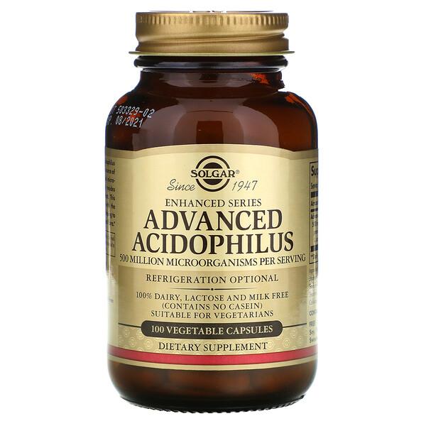 Улучшенный Ацидофилин, 100 Капсул