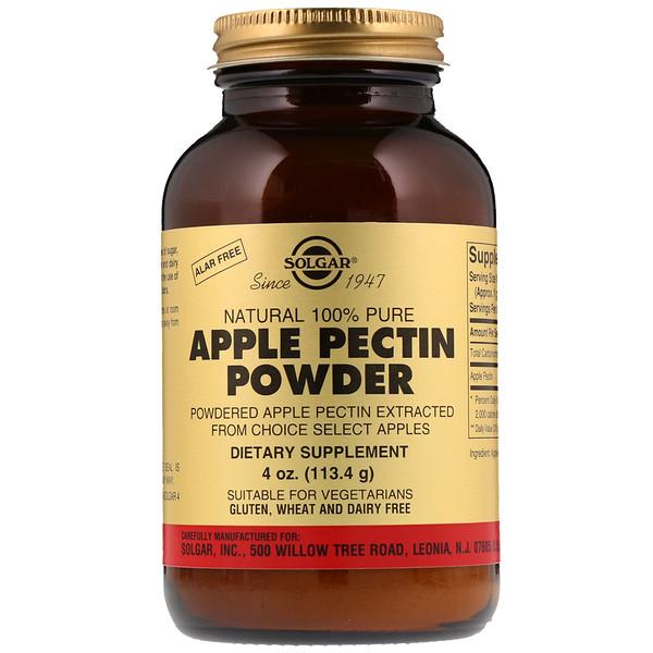 Порошок яблочного пектина, 113,4 г (4 унции)