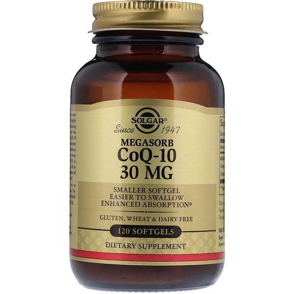 Megasorb CoQ-10, 30мг, 120капсул