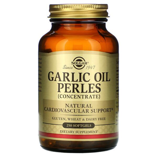 Мягкие капсулы с концентратом чесночного масла, 250 мягких желатиновых капсул