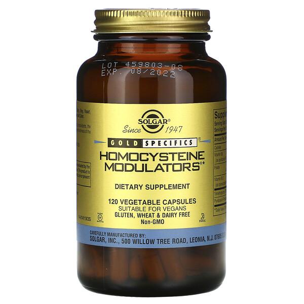 Gold Specifics, модуляторы гомоцистеина, 120 растительных капсул