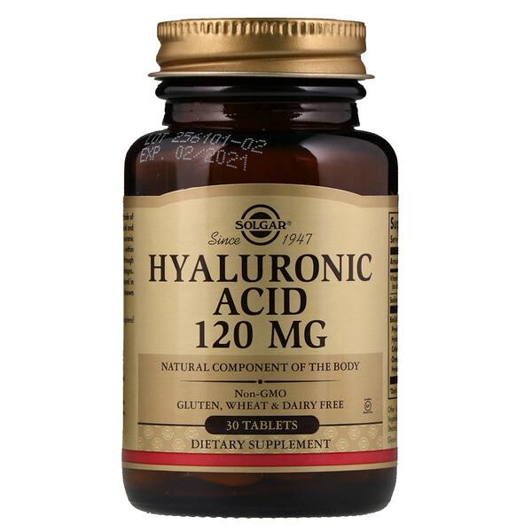 Гиалуроновая кислота, 120 мг, 30 таблеток