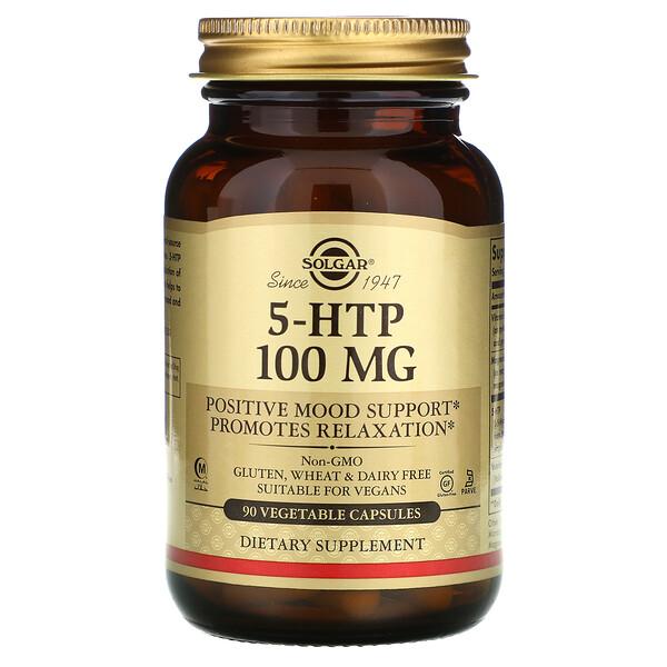 5-HTP, 100 мг, 90 растительных капсул