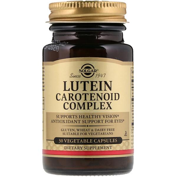 Комплекс каротиноидов с лютеином, 30 растительных капсул