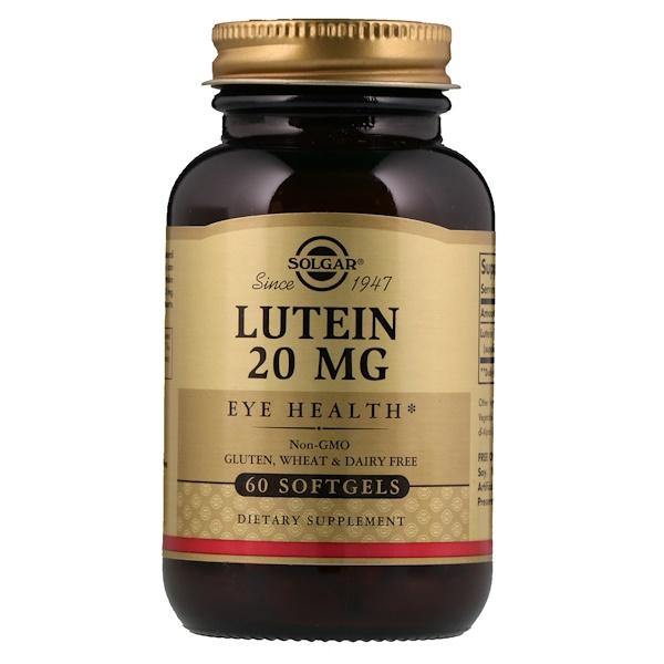 Лютеин, 20 мг, 60 капсул