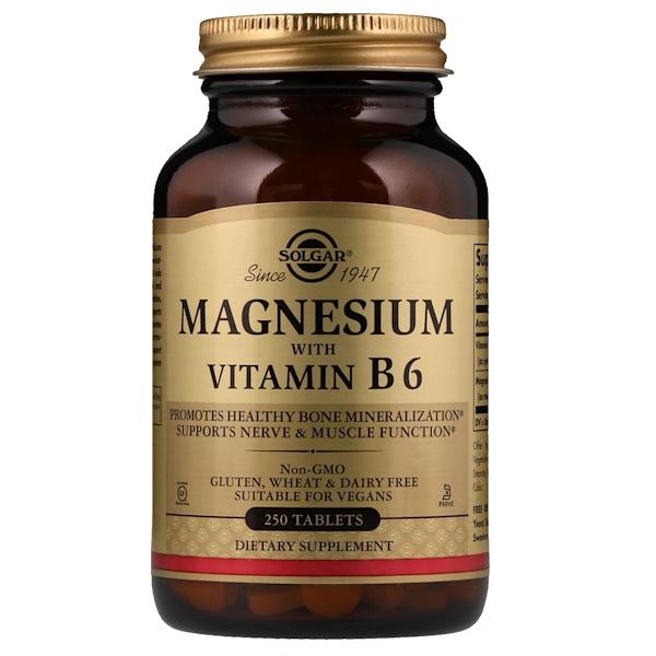 Магний с витаминомВ6, 250таблеток