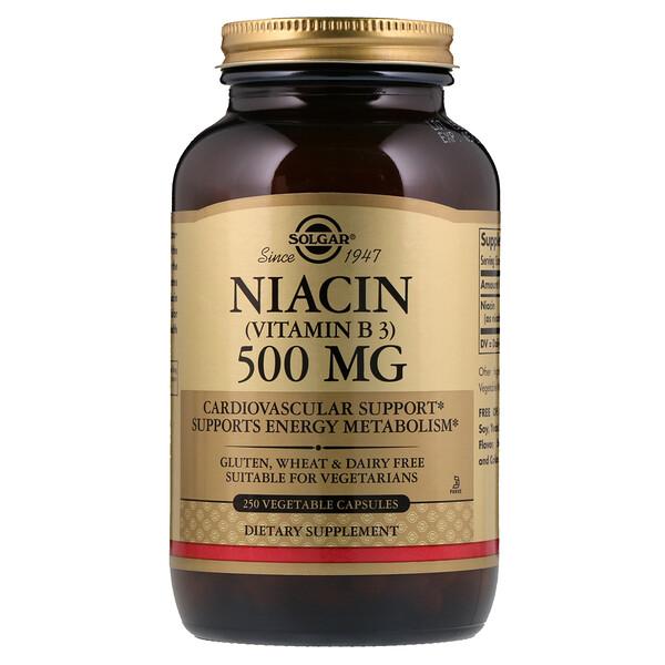 ВитаминВ3 (ниацин) 500мг, 250растительных капсул