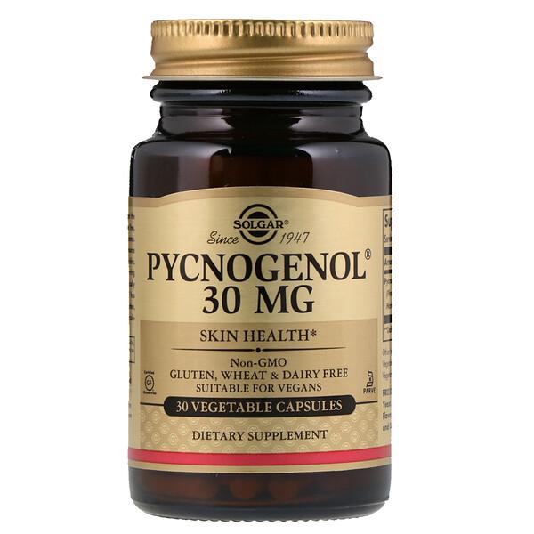 Pycnogenol, 30 mg, 30 Vegetarian Capsules