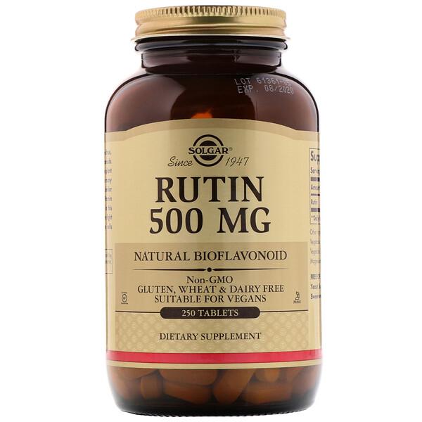 Рутин, 500 мг, 250 таблетки