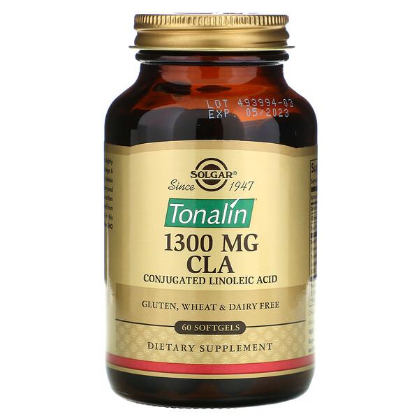 Tonalin CLA, конъюгированная линолевая кислота (КЛК), 1300мг, 60мягких таблеток