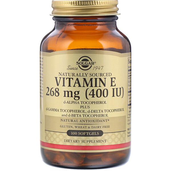 ВитаминE, 400МЕ, 100мягких таблеток