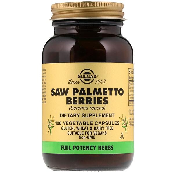 Плоды пальмы сереноа, 100 растительных капсул