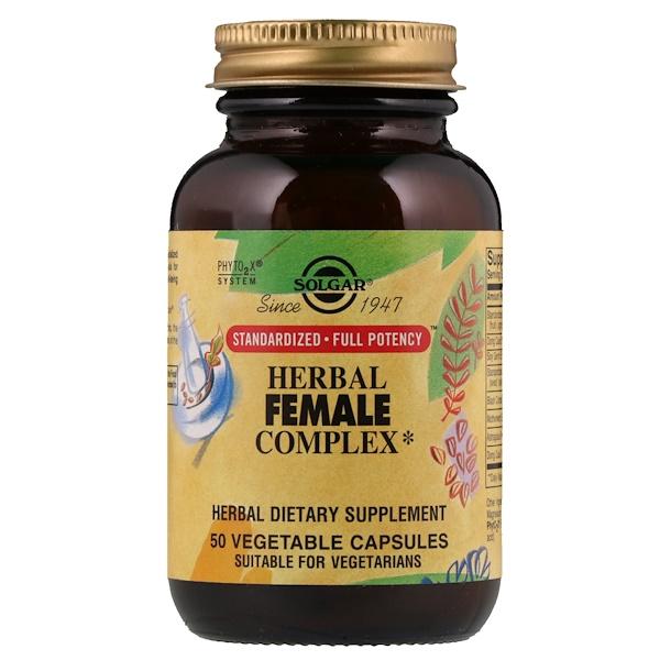 Травяной комплекс для женщин, 50 растительных капсул