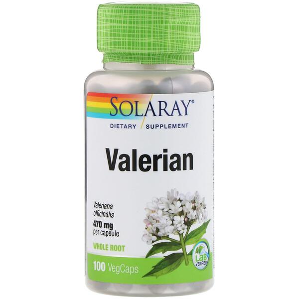 Valerian, 100 VegCaps