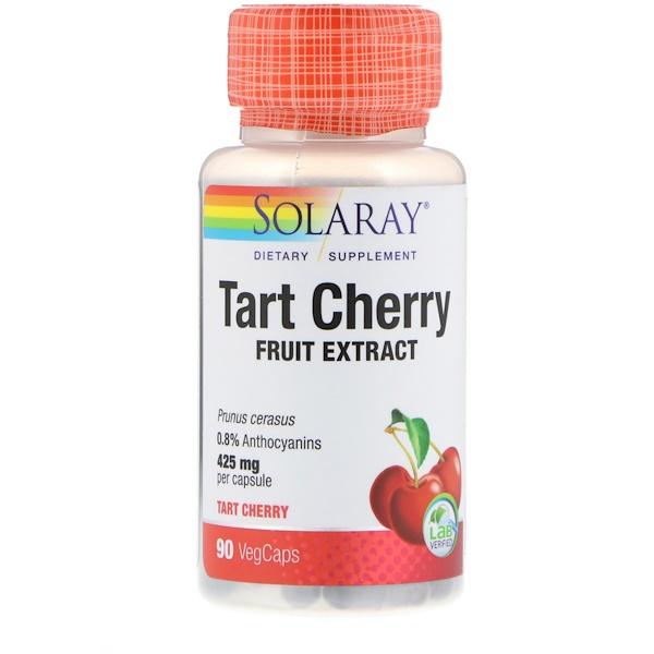 Экстракт вишни, 425 мг, 90 капсул с растительной оболочкой