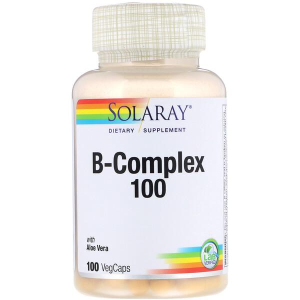 B-комплекс 100, 100 вегетарианских капсул