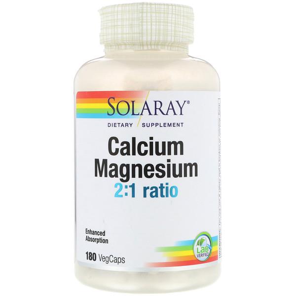 Кальций и магний в соотношении 2:1, 180 вегкапсул