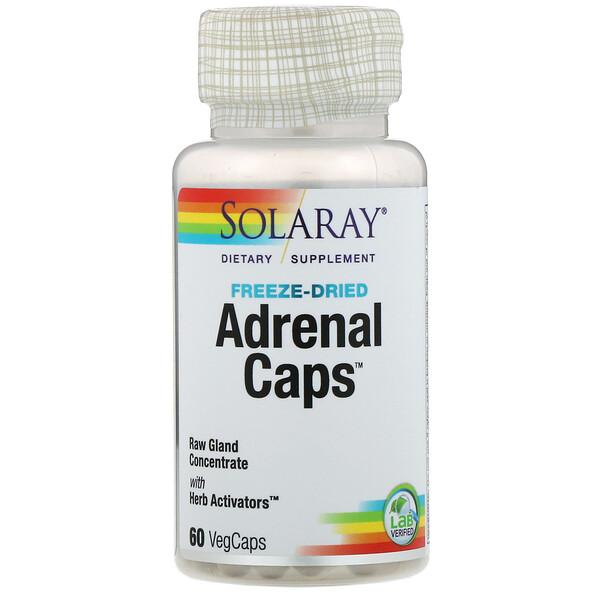 Adrenal Caps, 60 вегетарианских капсул