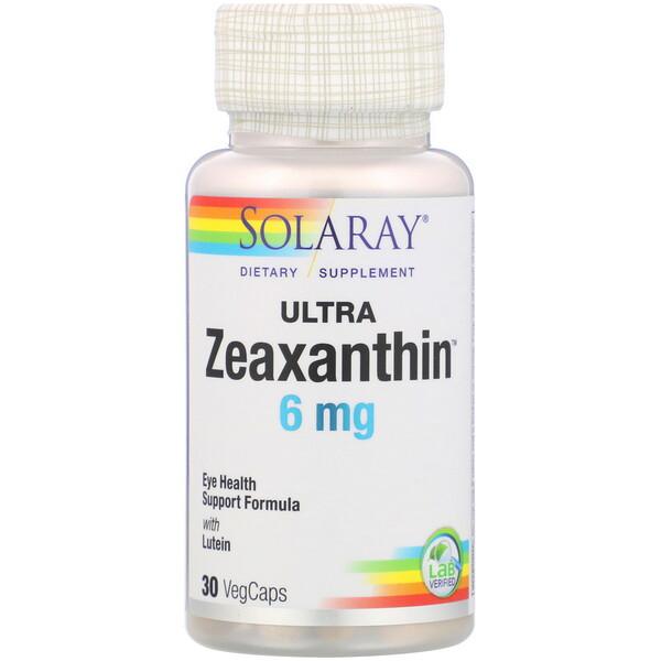 Ultra Zeaxanthin, 6 mg, 30 VegCaps