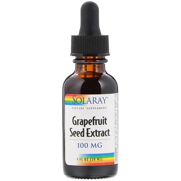 Экстракт семян грейпфрута, 100 мг, 1 ж. унц. (30 мл)