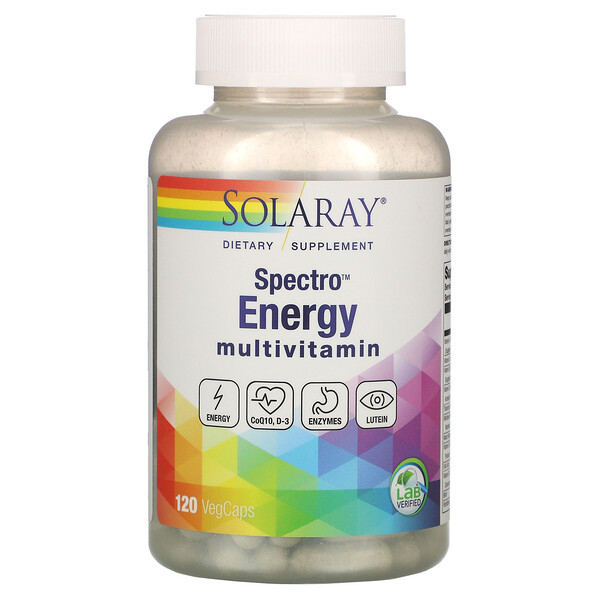 Spectro Energy Multivitamin, 120 Veggie Caps
