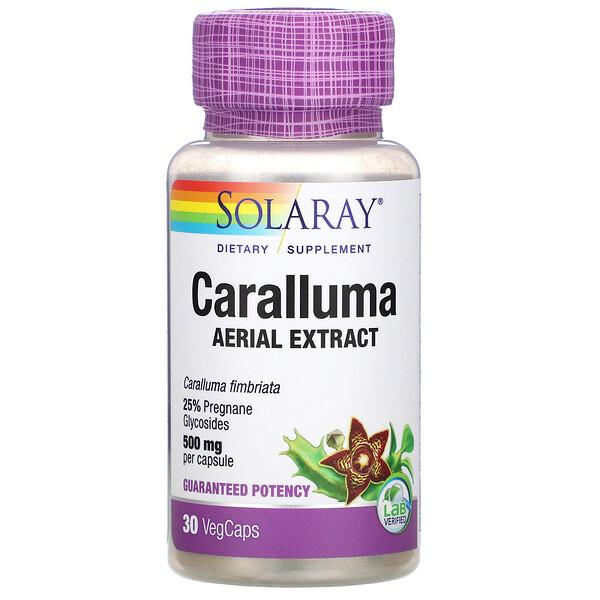 Caralluma Aerial Extract, 500 mg, 30 VegCaps