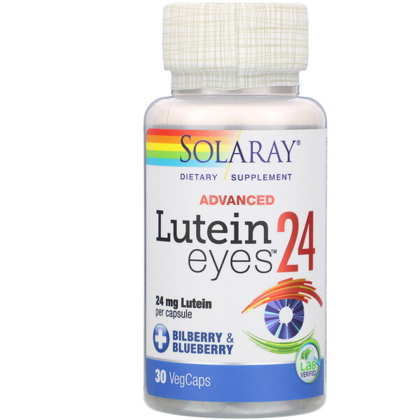 Lutein Eyes 24 Advanced, 24 mg, 30 VegCaps