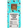 Endangered Species Chocolate, Клюква, миндаль и темный шоколад, 85 г (3 унции)
