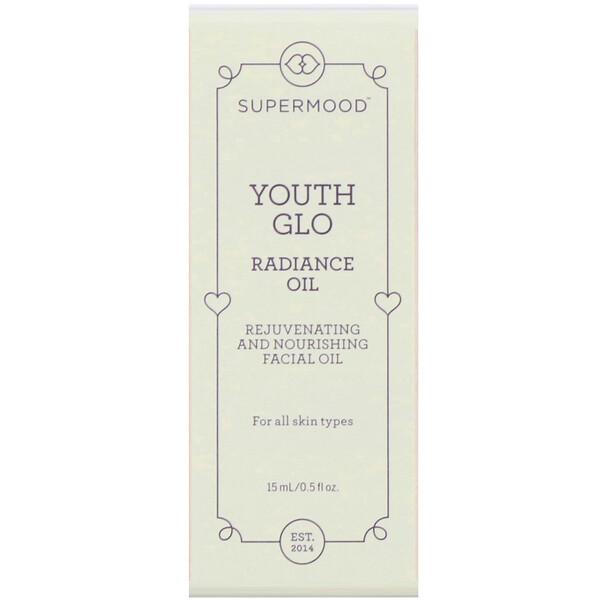 Youth Glo, восстанавливающее масло для лица с эффектом сияния, 15 мл