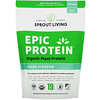 Sprout Living, Epic Protein, Organic Plant Protein + Superfoods, Green Kingdom, 16 oz (455 g)