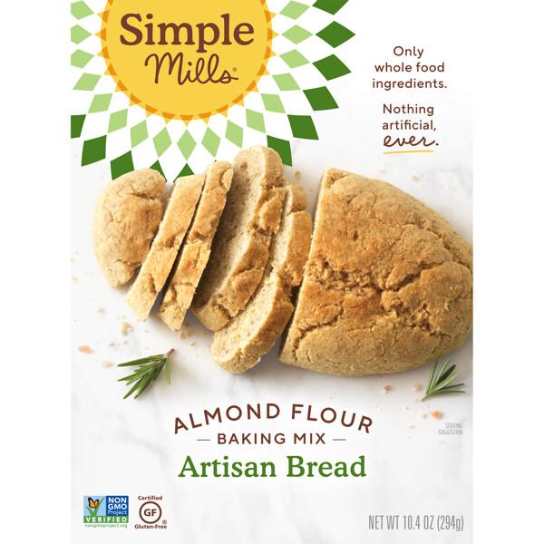 Натуральный продукт без глютена, смесь миндалевой муки, ремесленный хлеб, 10,4 унции (294 г)