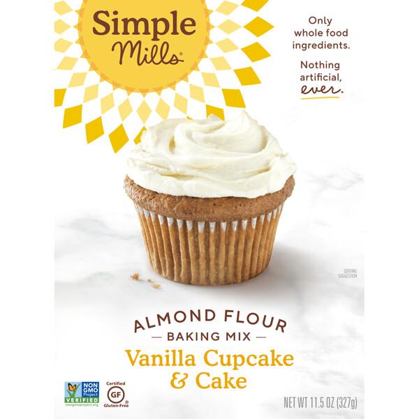 Naturally Gluten-Free, Almond Flour Mix, Vanilla Cupcake & Cake , 11.5 oz (327 g)